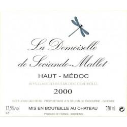 La Demoiselle de Sociando-Mallet 2009, Haut-Médoc 2nd vin - Magnum