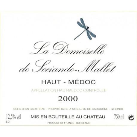 La Demoiselle de Sociando-Mallet 2009, Haut-M?doc 2nd vin - Magnum