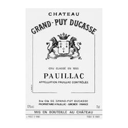 Château Grand Puy Ducassé 2015, Pauillac 5 ° Grand Cru Classé - WA 90-92