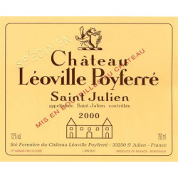 Château Léoville Poyferré 2015, Saint Julien 2° Grand Cru Classé - Parker 94