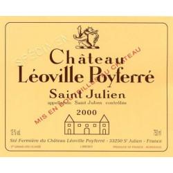 Château Léoville Poyferré 2015, Saint-Julien 2° Grand Cru Classé DM 3L - Parker 94