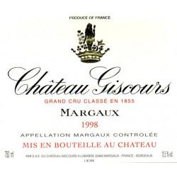 Château Giscours 2015, Margaux 3° Grand Cru Classé WA 94-96