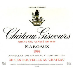 Château Giscours 2006, Margaux 3° GCC - Parker 88
