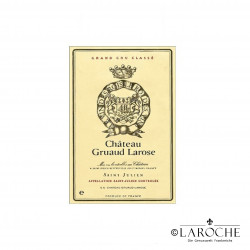 Chateau Gruaud Larose 2015, Saint Julien Grand Cru Classé WA 90-92