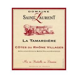 Domaine Saint Laurent, Côtes du Rhône Villages - La Tamardière 2014 - MAGNUM