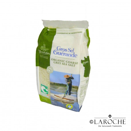 "Le Gu?randais, Cooking sea salt from Gu?rande PGI ""Nature & Progres"", 1 kg"