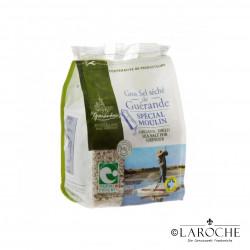 """Le Guérandais, Gros sel séché de Guérande Spécial Moulin IGP """"Nature et Progrès"""", 500 g"""