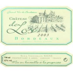 Château de Los, Bordeaux weiß 2015