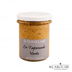 Le Clos de Laure, Green Tapenade, jar 130 gr