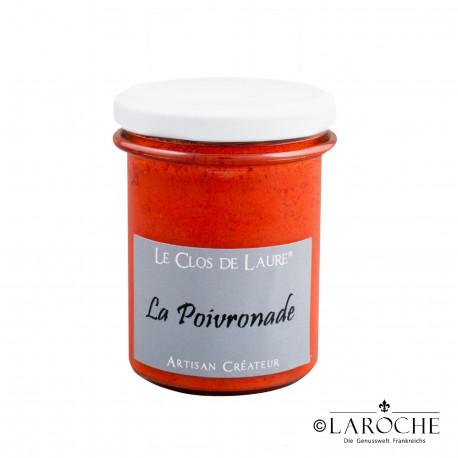 Le Clos de Laure, Paprikacreme mild, Glas 140 gr