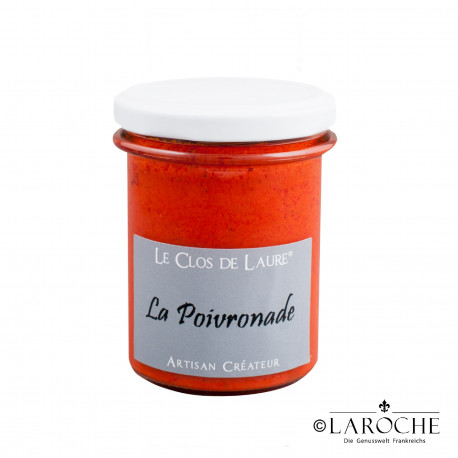 Le Clos de Laure, spread of pepper, jar 140 gr