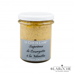 Le Clos de Laure, Suprême de Courgette à la Menthe, bocal 140 gr