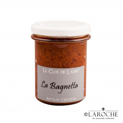 Le Clos de Laure, La Bagnetta - Tomaten, Knoblauch, Basilikum, Olivenöl, Glas 140 gr