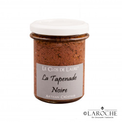 Le Clos de Laure, Green Tapenade with peppermint and candied lemon, jar 140 gr
