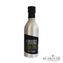 Les Oleiades, Olivenöl mit Kräuter der Provence aromatisiert, 33 cl, Metalflasche