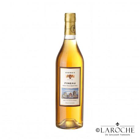 Cognac Godet, Pineau des Charentes weiß