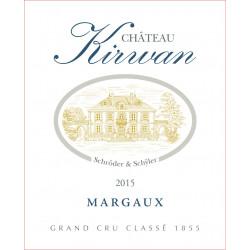 Château Kirwan 2015, Margaux 3° Grand Cru Classé - DM 3L - WA 89-91