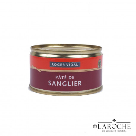 Roger Vidal, Wildschweinpastete, 125 g
