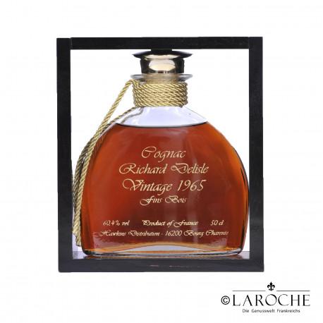 Richard Delisle, Cognac Fins Bois Millesime - XO 1965