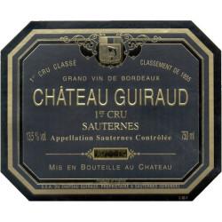 Château Guiraud 2007, Sauternes 1° Grand Cru Classé - 37,5cl - Parker 94