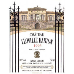 Château Léoville Barton 2016, Saint-Julien 2° Grand Cru Classé - Parker 95+
