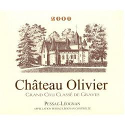 Château Olivier rot, Pessac Léognan