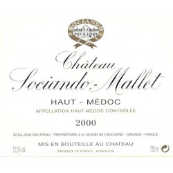 Château Sociando-Mallet 2009, Haut-Médoc - MAGNUM - Parker 90