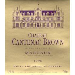 Château Cantenac Brown 2018, Margaux 3° Grand Cru Classé - Parker 91-93