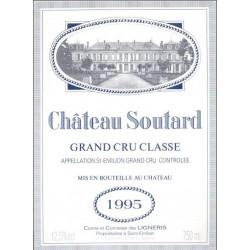 Château Soutard 2018, Saint Emilion Grand Cru Classé - Parker 93-95