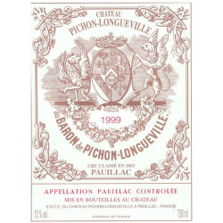 Château Pichon Longueville Baron 2017, Pauillac 2° Grand Cru Classé - Parker 95-97