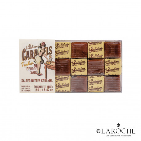 La Maison d'Armorine, shortbread biscuits with caramel, 100g