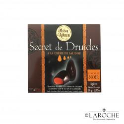 """La Maison d'Armorine, """"Secret de Druides"""", Chocolats noirs ? la cr?me de Salidou, 80g"""