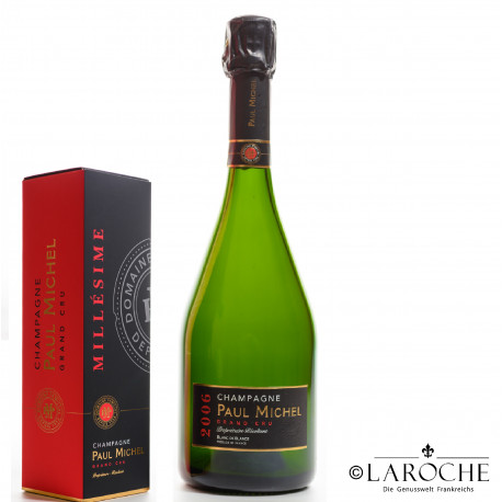 Champagne Paul Michel, Blanc de Blancs Grand Cru 2006 - Etui