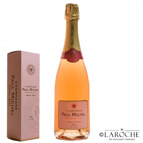 Champagne Paul Michel, Rosé 1° Cru Brut - Etui