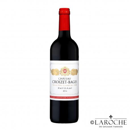 Château Croizet Bages 2016, Pauillac 5° Cru Classé - Parker 89-91