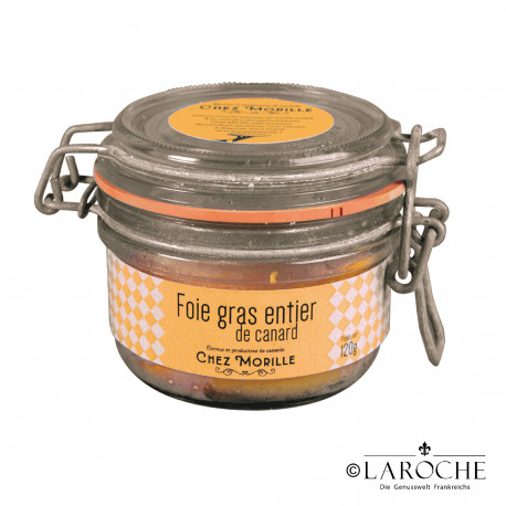 Chez Morille, Whole duck's liver - 120g