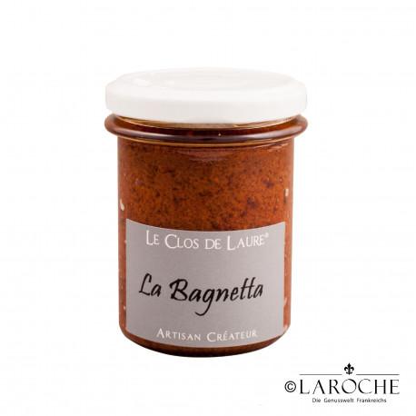 Le Clos de Laure, La Bagnetta - Tomaten, Knoblauch, Basilikum, Oliven?l, Glas 140 gr