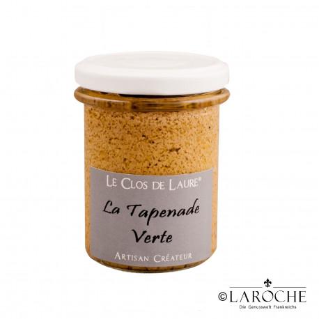 Le Clos de Laure, Gr?ne Tapenade, Glas 130 gr