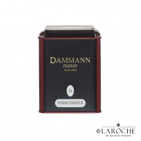 Dammann, Pomme d'Amour - Schwarzer Tee, 100g Dose