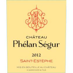 Château Phélan Ségur 2012, Saint-Estèphe - Parker 87