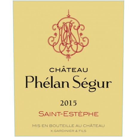 Château Phélan Ségur 2015, Saint-Estèphe - DM 3L - Parker 90+