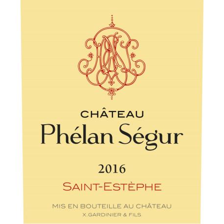 Château Phélan Ségur 2016, Saint-Estèphe - MAGNUM - Parker 92