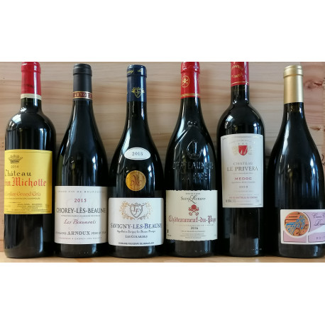 Tasting parcel 9: Red wines up to 35,-