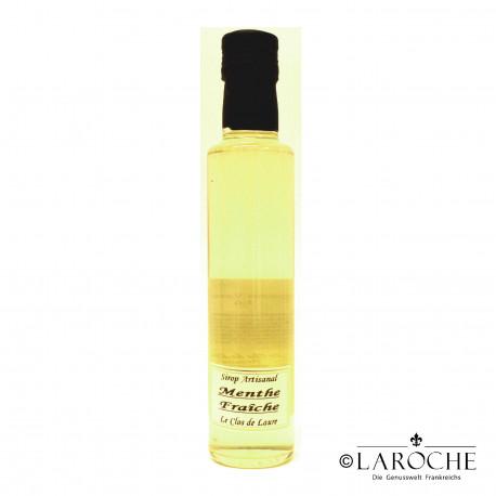 Le Clos de Laure, fresh peppermint syrup 25 cl