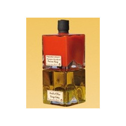 Popol, Vinegar with pulp of Red Pepper, Tomato and Chilli from Espelette (AOP) - 25cl - sale