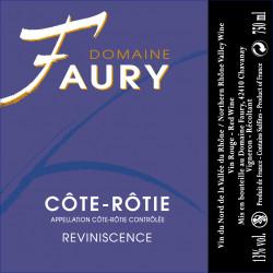 Domaine Faury, Côte-Rôtie - Reviniscence 2013 - Parker 89