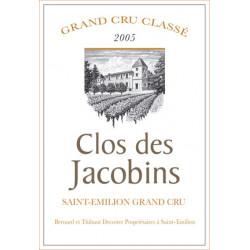 Clos des Jacobins 2014, Saint-Emilion Grand Cru Classé - Parker 87