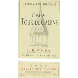 copy of Château Tour de Calens, Graves 2015