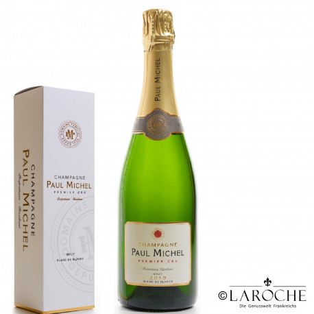 copy of Champagne Paul Michel, Blanc de Blancs 1° Cru Brut 2012 - Gift Box