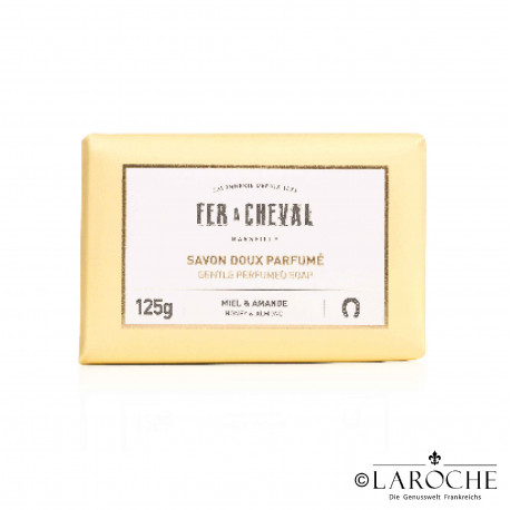 Fer à cheval, Marseille soap, honey and almond